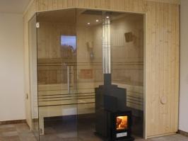 Holzbefeuerter Saunaofen